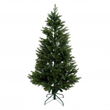Brad artificial de Craciun, verde, conifer, 180 cm, cu suport